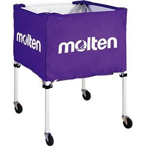 molten(モルテン) 折りたたみ式ボールカゴセットパープル (屋外用) BK20HOTP|felicevoice-store