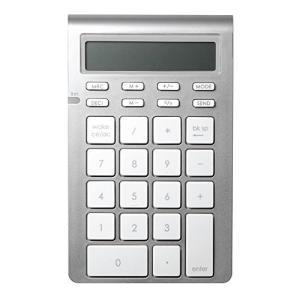 電卓(CALC)モードとキーパッド(KEYPAD)モードの2つのモード。 Bluetooth 3.0...