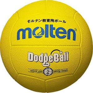 molten(モルテン) ドッジボール 黄 ゴム 2号球 MD202Y felicevoice-store
