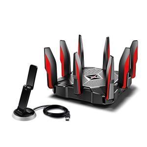 [特徴]無線LANルーターと無線LAN子機のハイエンドセット。高速回線に最適。広々と高速通信。 [こ...