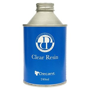 DECANT(デキャント) クリアレジン 240ml サーフボード補修用|felicevoice-store