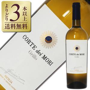 白ワイン イタリア ミニーニ コルテ ディ モリ グリッロ シチリア DOC  ビアンカ 2019 750ml wine felicity-y