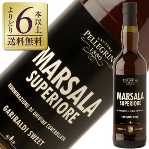 酒精強化 ワイン ペッレグリーノ マルサラ スーペリオーレ ガリバルディ ドルチェ 18度 750m...