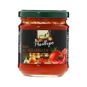 パスタソース ポジリポ パスタソース アラビアータ 190g 食品 pasta sauce 包装不可