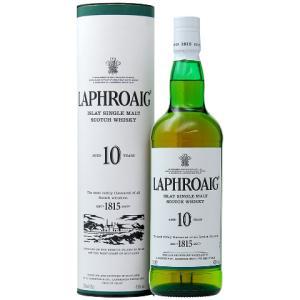 ウイスキー ラフロイグ 10年 43度 正規 箱付 750ml シングルモルト 洋酒 whisky