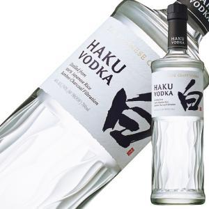 ウォッカ サントリー ジャパニーズ クラフトウォッカ HAKU(白 ハク) 40度 700ml スピリッツ vodka sunhaku|felicity-y