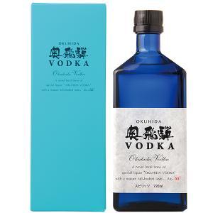 ウォッカ 奥飛騨酒造 奥飛騨 VODKA(ウォッカ) 55度 箱付 720ml スピリッツ vodka|felicity-y