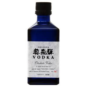 ウォッカ 奥飛騨酒造 奥飛騨 VODKA(ウォッカ) 55度 箱付 300ml スピリッツ vodka|felicity-y
