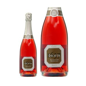 ロゼワイン スペイン アルティーガ フステル ダミア カヴァ ブルット ロゼ 750ml sparkling wine|felicity-y