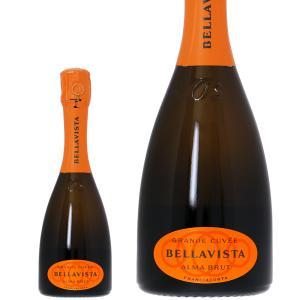 スパークリングワイン イタリア ベラヴィスタ フランチャコルタ アルマ キュヴェ ブリュット ハーフ 正規 375ml sparkling wine 包装不可|felicity-y