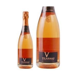 ロゼワイン スペイン カステル デ ヴィラウナウ ヴィラウナウ ブリュット ロゼ 750ml sparkling wine|felicity-y