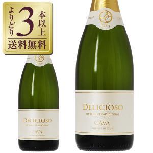 スパークリングワイン スペイン デリシオーソ カヴァ ブリュット 750ml sparkling wine cava|felicity-y