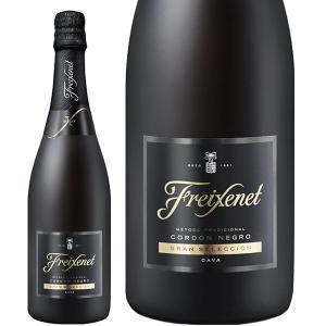 スパークリングワイン スペイン フレシネ コルトン ネグロ ブリュット(フレシネ・コルドン・ネグロ・ブリュット) 並行 750ml sparkling wine|felicity-y