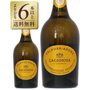 スパークリングワイン イタリア ラ ジョイヨーザ プロセッコ ディ ヴァルドッビアーデネ スプマンテ...