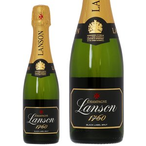 シャンパン フランス シャンパーニュ ランソン ブラックラベル ブリュット ハーフ 正規 375ml champagne|felicity-y