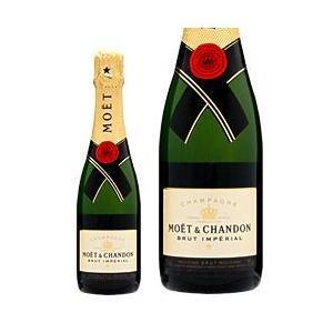 シャンパン フランス シャンパーニュ モエ エ シャンドン ブリュット アンペリアル ハーフ 並行 375ml champagne|felicity-y