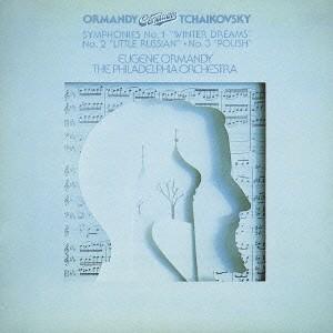 チャイコフスキー:交響曲第1番「冬の日の幻想」、第2番「小ロシア」、第3番「ポーランド」 オーマンディ&フィラデルフィア管弦楽団 CD