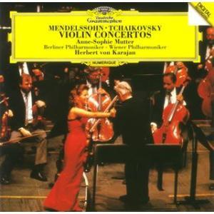 メンデルスゾーン&チャイコフスキー:ヴァイオリン協奏曲 / ムター (CD)
