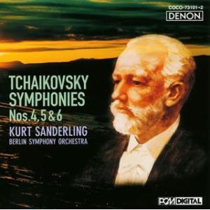 チャイコフスキー:交響曲第4番&第5番&第6番「悲愴」 ザンデルリンク Blu-Spec CD