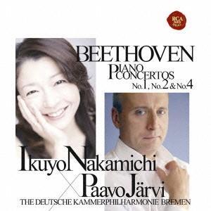 ベートーヴェン:ピアノ協奏曲第1番&第2番&第4番 / 仲道郁代 (CD)
