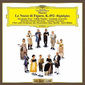 モーツァルト:歌劇「フィガロの結婚」ハイライト / ベーム (CD)