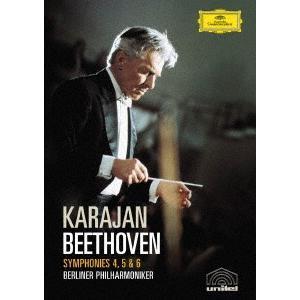 ベートーヴェン:交響曲第4番&第5番「運命」&第6番「田園」 / カラヤン (DVD)|felista