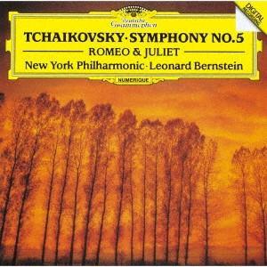 チャイコフスキー:交響曲第5番、幻想序曲「ロメオとジュリエット」 / バーンスタイン (CD)