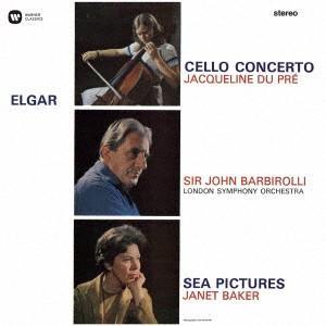 エルガー:チェロ協奏曲、他(完全生産限定盤) / デュ・プレ (CD)