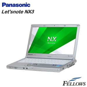 ノートパソコン Panasonic Let's note CF-NX3EDWCS 訳あり 外観難あり 無線LAN Office 付き Windows8.1 Pro 64Bit Core i5-4300U/4GB/128GB SSD 中古 パソコン|fellows-store