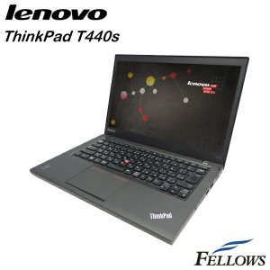 ノートパソコン Lenovo ThinkPad T440s  高性能 SSD フルHD A4 14インチ 無線LAN Office付き Windows8.1 Pro 64bit Core i7-4600U/8GB/512GB SSD 中古 パソコン|fellows-store