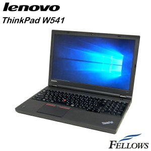 ノートパソコン Lenovo ThinkPad W541  カメラ テンキー 無線LAN WPS Office付き Windows10 Pro 64bit (Core i7-4910MQ/16GB/512GB SSD/MULTI)  中古 パソコン|fellows-store