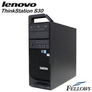 ワークステーション Lenovo ThinkStation S30 ハイエンドグラボ Quadro K4000  Office付き Windows10Pro 64bit  中古パソコン|fellows-store