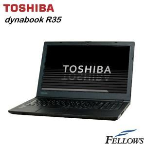 ノートパソコン 東芝 dynabook Satellite R35/M 訳あり外観難あり テンキー カメラ ac対応 無線LAN Office付き Windows8.1Pro 64bit 中古 パソコン|fellows-store