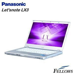 ノートパソコン Panasonic Let'snote CF-LX3 高性能 カメラ 軽量 無線LAN Office付き Windows8.1 Pro 64bit  Core i5-4300U/4GB/128GB SSD 中古 パソコン|fellows-store