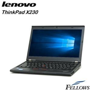 ノートパソコン Lenovo ThinkPad X230  高性能 軽量 指紋 モバイル 無線LAN Office付き Windows8.1Pro 64Bit  ノートPC|fellows-store