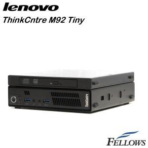 デスクトップ Lenovo ThinkCentre M92 Tiny ウルトラスモール  WPS Office付き Windows10 Home 64bit (Core i3-3220T/4GB/500GB/DVD-ROM )中古パソコン|fellows-store