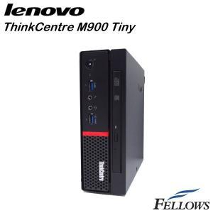 デスクトップ Lenovo ThinkCentre M900 Tiny ウルトラスモール  WPS Office付き Windows10 Pro 64bit (Core i3-6100T/4GB/500GB/DVD-ROM )中古パソコン|fellows-store