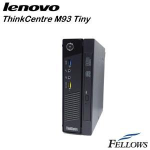 デスクトップ Lenovo ThinkCentre M93 Tiny ウルトラスモール  WPS Office付き Windows10 Home 64bit (Core i3-4130T/4GB/500GB/DVD-ROM)中古パソコン|fellows-store