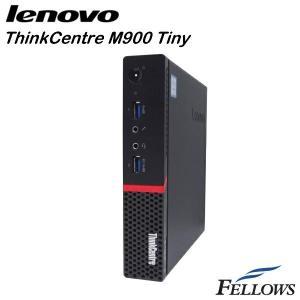 デスクトップ Lenovo ThinkCentre M900 Tiny  ウルトラスモール  省スペース  WPS Office付き Windows10 Pro 64bit (Core i3-6100T/4GB/500GB )中古パソコン|fellows-store