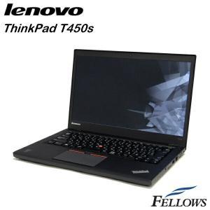 ノートパソコン Lenovo ThinkPad T450s  Ultrabook カメラ 無線LAN Office付き  Windows10 home 64bit  (Core i7-5600U/8GB/512GB SSD)  中古 パソコン|fellows-store