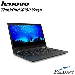 ノートパソコン Lenovo ThinkPad X380 Yoga 20LH000HJP フルHD タッチパネル 無線LAN WPS Office付き  Windows10 Pro 64bit  新品 パソコン|fellows-store