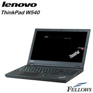 ノートパソコン Lenovo ThinkPad W540 カメラ テンキー 無線LAN Office付き  Windows8.1Pro 64bit  (Core i7-4900MQ/8GB/500GB/MULTI)  中古 パソコン|fellows-store