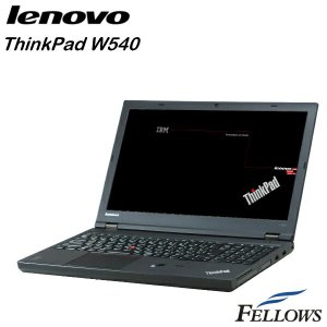 ノートパソコン Lenovo ThinkPad W540 カメラ テンキー 無線LAN Office付き  Windows8.1Pro 64bit  (Core i7-4910MQ/16GB/512GB SSD/MULTI)  中古 パソコン|fellows-store|01