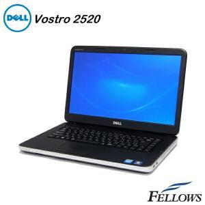 ノートパソコン DELL Vostro 2520  15.6インチ  デュアルコア カメラ 無線LAN office付き Windows10 Home 64bit Core i3-3120M/4GB/500GB/MULTI 中古 パソコン|fellows-store