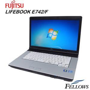 ノートパソコン 富士通 LIFEBOOK E742/F A4 15.6インチ 高性能 HDMI USB3.0 無線LAN Office付き Windows7 Pro 64Bit  Core i3-3110M/4GB/320GB/DVD 中古パソコン|fellows-store