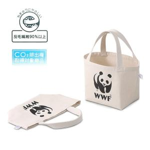 WWF リサイクルキャンバスエコランチバッグ|fellows7