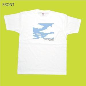 大空 Tシャツ ホワイト 東日本大震災 復興 フェローズ チャリティ 商品|fellows7