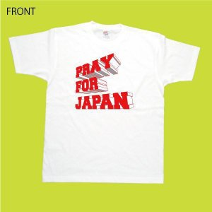 PRAY FOR JAPAN 3D Tシャツ 東日本大震災 復興 フェローズ チャリティ 商品|fellows7