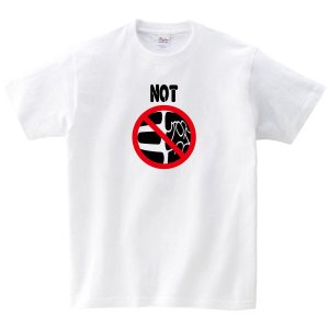 NOT三密 Tシャツ 新型コロナ撲滅Tシャツ 白|fellows7