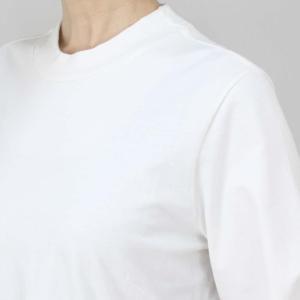 OSKLEN オスクレン 黒ボーダーベルスリーブ白Tシャツワンピース|femme|15